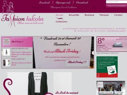 Fashion Takoin   Vêtements, accessoires, chaussures à Cambo Les ... 5010cfa1cf99