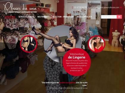 19dc4ea2c0 Plaisirs de Soie : Boutique de lingerie à Loches (37)