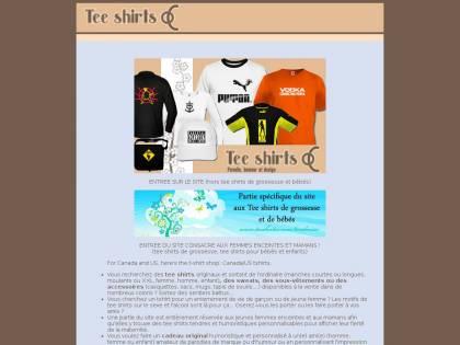 Vente de tee shirts originaux et humoristiques