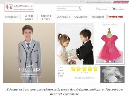 0c29ae46cf261 MAXMODE Cérémonie Enfant   Vente de vêtements de cérémonie pour enfants
