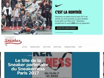 Le Site De La Sneaker : Toute l'actualité sneakers en France