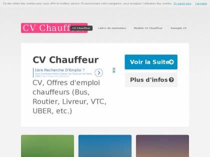 Cv Chauffeur Cv Et Lettre De Motivation Chauffeur