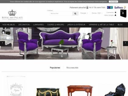 Royal Art Palace International : Vente de mobilier et d\'objet de ...