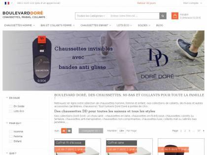 9d4276abc28 Boulevard Dore   Vente de chaussettes et collants Dore Dore