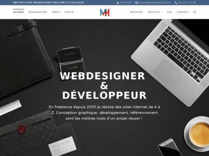 464140fd752 Ce site est édité à titre professionnel (forme juridique   Entreprise  Individuelle). Il est en ligne depuis 13 ans (2005). Webdesigner Développeur  ...