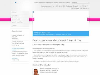 Centre Cardiovasculaire Basé à Liège Et Huy
