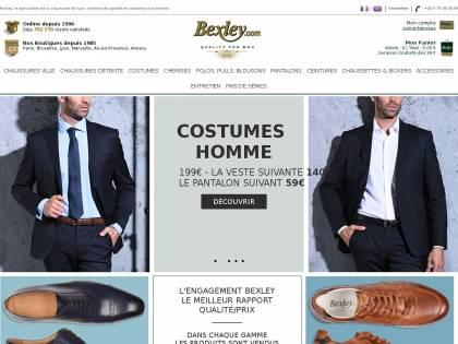 Bexley : Chaussures et chemises de luxe pour homme