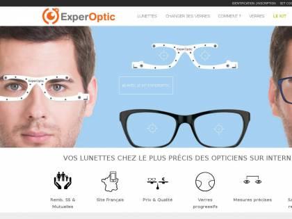 ExperOptic : Vente en ligne de lunettes de