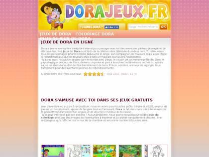 Dorajeux Jeux Dora L Exploratrice Gratuits