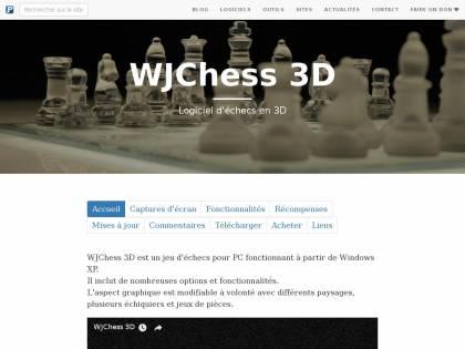 ECHEC 3D TÉLÉCHARGER WJCHESS