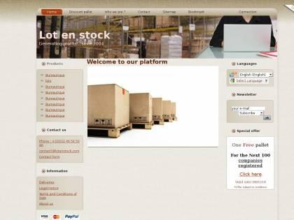 d37381724d4221 Palettes de Solderie : Le grossiste en destockage : lots de solderie